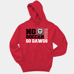 GO DAWGS - 996 Jerzees Adult 8oz. 50/50 Pullover Hooded Sweatshirt